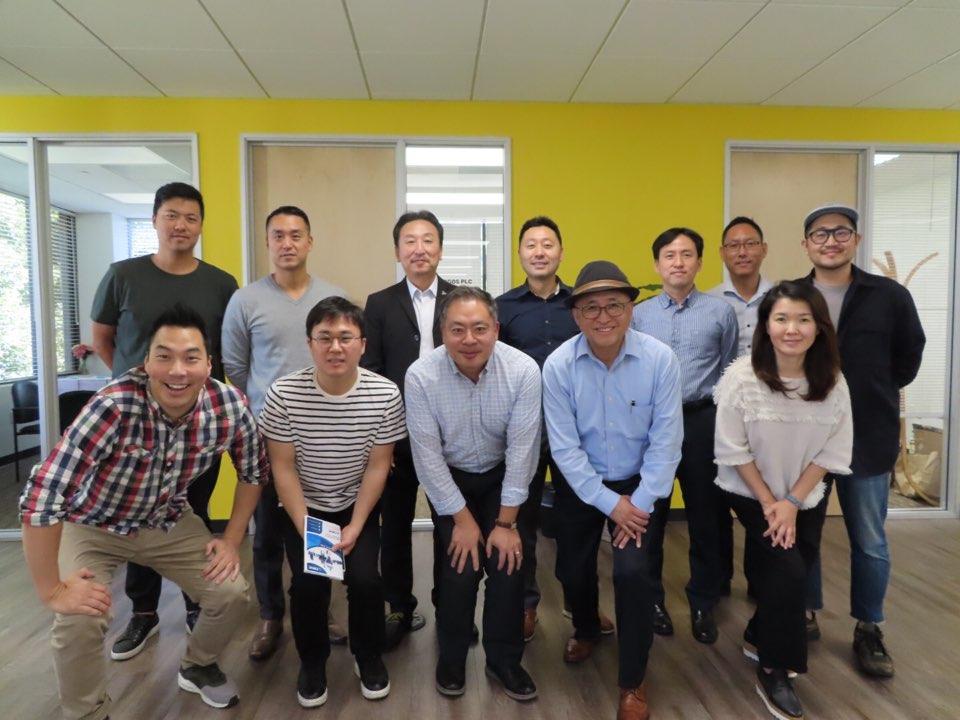 KCBMC of North America Leadership Visits LA