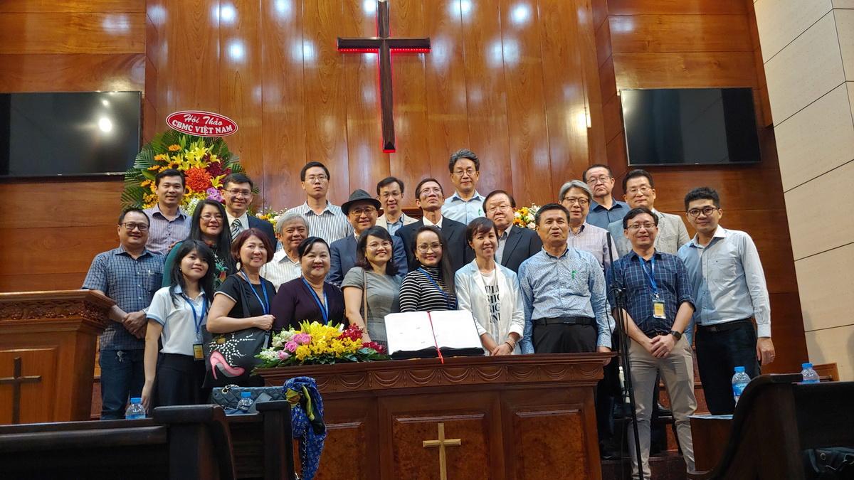 Paul Hyon visits CBMC Vietnam